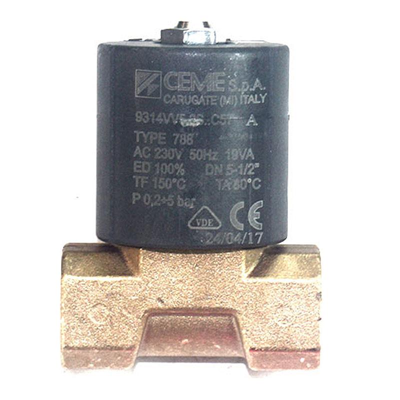 Βαλβίδα Πετρελαίου Ηλεκτρομαγνητική CEME 1/2''