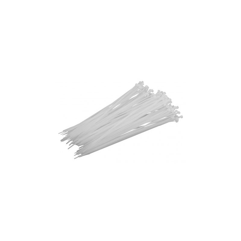Δεματικά 4,8x200mm Άσπρα
